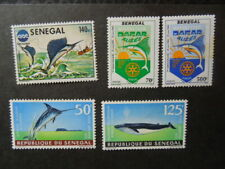 G1079   SENEGAL 1972+  1976+1983  SAILFISH/ROTARY/WHALE MNH