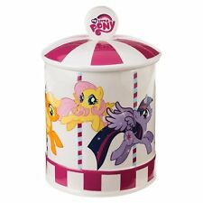 My Little Pony Character Images Carousel Ceramic Cookie Jar, NEW UNUSED BOXED
