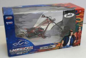 Joyride American Chopper The Series Black Widow Bike -1:10 Scale Limited Edition