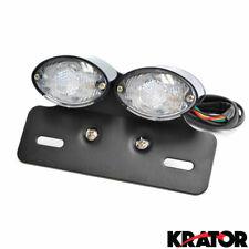 LED Stop /& Turn Lights TZS-132-INT-S //INTR//C50//90 Smoke Integrated Tail Light