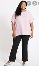M&S pink curve top size size 28