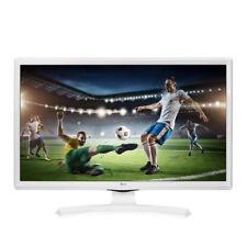 "TV LG 24TK410V 24"" LED HD Televisore piatto Decoder DVB-T2 HDMI NUOVO Bianco"