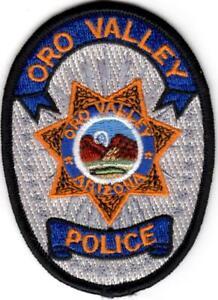 Oro Valley small Police Patch Arizona AZ