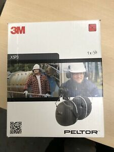 3M Peltor X5P3 35 dB Helmet Mounted Earmuffs - Black Ear Defender