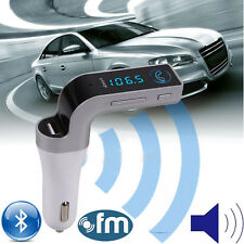 Bluetooth Wireless Car AUX Stereo Audio Receiver FM Adapter USB Charger A2DP New