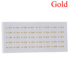 40pcs Body Piercing Fake Nose Ring Ear Lip Ring Clip on Hoop Stud Jewelry Gold