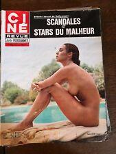 Journal Ciné Revue Nadia Cassini magazine n°16/année 70/journal vintage