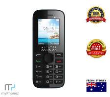 Brand New Alcatel Onetouch 2052 Black 3G Mobile Phone FM Radio Camera Unlocked