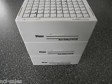 LOT OF 3 NUNC #374187 MAX-100 STORAGE BOX, PC 132x132x52mm DIMENSION, NONSTERILE