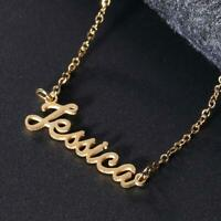 Women Name Pendant Chain Customized Handwrite Signature Necklace/Jessica