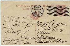 Leonida Bissolati_Intra 4° Alpini 1915 cartolina autografa_Socialismo_WWI 1GM