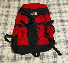 VINTAGE 90's THE NORTH FACE RED/BLACK BACK PACK RARE! FLAWED!
