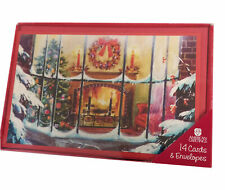 American Greetings Christmas Cards Ornaments 14 Cards
