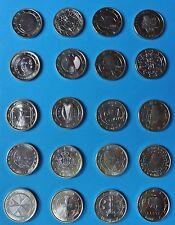 Sammlung 23 x 1 Euro - alle Länder mit Vatikan Monaco Andorra San Marino KM #2_5