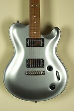 Nik Huber Silver Dolphin II Silver Bolt On Guitar Curly Maple Neck Rosewood FB