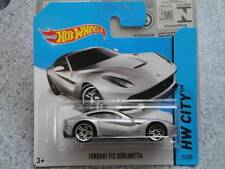 Hot Wheels 2014 #031/250 FERRARI F12 BERLINETTA silver HW CITY
