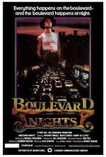 BOULEVARD NIGHTS Movie POSTER 27x40 Richard Yniguez Danny De La Paz Marta DuBois