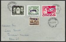 Poland covers 1950 mixed franked GROSZY cover Radomsko