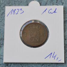 Niederlande 1 Cent  1823  ***