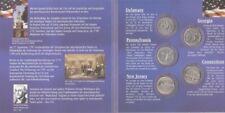 USA  State Quarter Set  1999 - 5 Münzen  im Folder