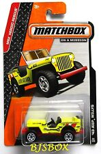 Matchbox 2014 43 JEEP WILLYS 4x4 Truck MBX Heroic Rescue Life Guard #94 New