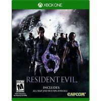 Resident Evil 6 (Microsoft Xbox One, 2016)  New Other Partial Sealed   Fast Ship