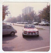 Fotografia Originale - RALLY FIAT 124 ABARTH