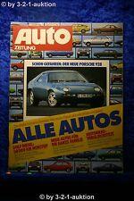 Auto Zeitung 6/77 Porsche 928 Mazda 323 BMW R 100 RS Kawa Z 1000