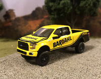 2017 Ford F-150 Custom Lifted 4x4 Farm Truck 1/64 Diecast 4WD Off Road Bardahl