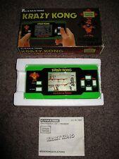 Gama Tronic Krazy Kong Handheld Double Hander Epoch 1984 wie Game & Watch MIB