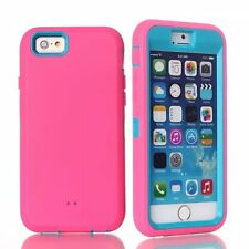 """3 in 1 rubber shockproof hard protection case for Iphone 6 4.7"""""""