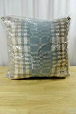 Wd40Ba Light Tan Damask Chenille Check Throw Cushion Cover//Pillow Case Cust-Size