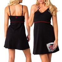 "Metal Mulisha ""Forever"" V-Neck Ladies Dress - Black Size S"
