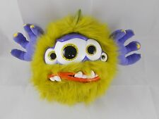 "Horri-Ballz Plush Sounds Ball Monster 7"" Tall Vivid Toy"