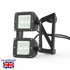 Motorcycle LED Headlight Streetfighter Project Dual Stacked - 50 - 51mm