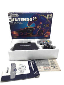 Nintendo N64 Console Box Full set Japanese original box NUS-001 CIB