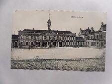 c1918 Postcard. Lens, France. La Gare (Pre-1926 Building). B/W Illustrated