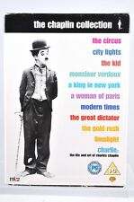 Charlie Chaplin Collection 10 DVDs - incl CHARLIE the life & Art with interviews