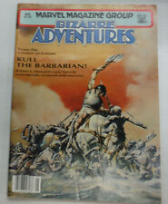 Bizarre Adventures Magazine Kull The Barbarian May 1981 052015R