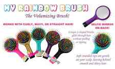 My Rainbow Hair Brush works with Curly, Wavy and Straight Hairs! 100% Original