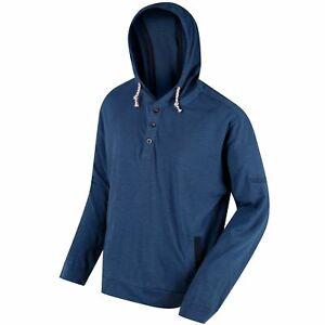 Regatta Men's Marly Hoodie Dark Denim - Blue, Size: XXL (0063)