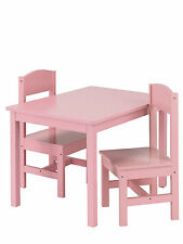 Solid Wood Up to 2 Seats Tables & Chairs for Children