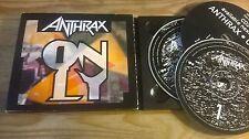 CD Metal Anthrax - Only : 2CD Album (6 Song) MCD ELEKTRA