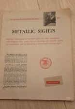 Metalic Sights: An American Rifleman Reprint
