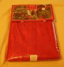 "Lenox Fine Table Linens Holly Damask 52"" X 70"" Oblong New"