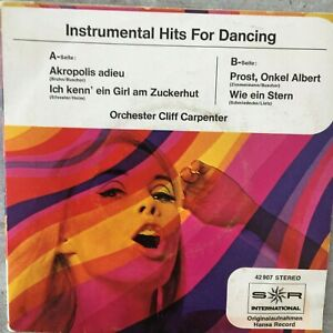 CLIFF CARPENTER: Instrumental Hits For Dancing (EP S*R Int. 42907 Stereo / NM)