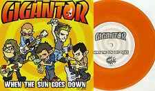 """Gigantor / Easy Grip - Split 7"""" ORANGE VINYL CH3 Simpletones Japan Germany Punk"""