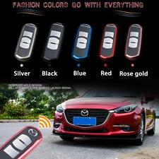 Exact Fit Soft TPU Red Remote Smart Key Fob Shell Cover For Mazda 3 6 CX-7 MX-5