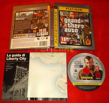 GRAND THEFT AUTO IV 4 Ps3 GTA Versione Italiana Platinum  ○ COMPLETO - FH