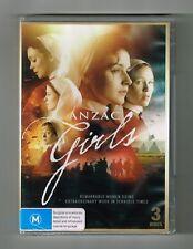 Anzac Girls - Australian TV Drama Dvd 3-Disc Set Brand New & Sealed